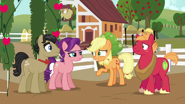 "File:Applejack ""you just can't see Granny right now"" S6E23.png"