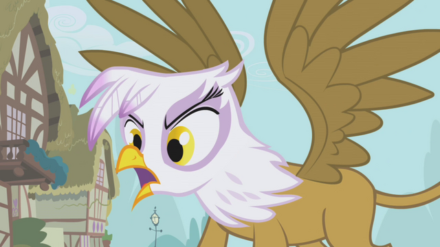 File:Gilda berating Fluttershy S1E05.png