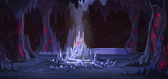 File:Legend of Everfree - Crystal Cave by Francois Belair and Ross Love.png