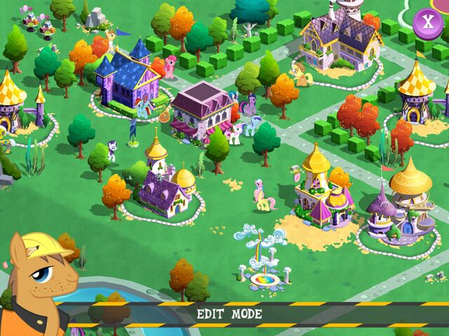 File:My Little Pony mobile game - Edit Mode.jpg