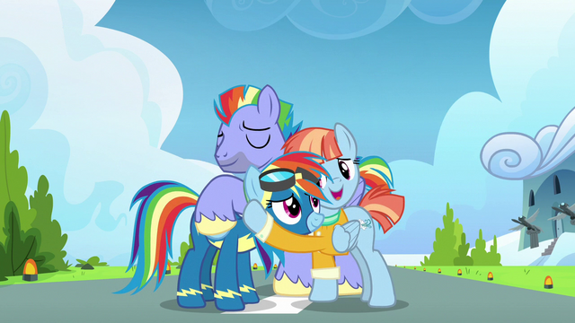 File:Rainbow Dash reconciles with her parents S7E7.png