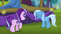 Starlight asking Trixie what's wrong S6E6
