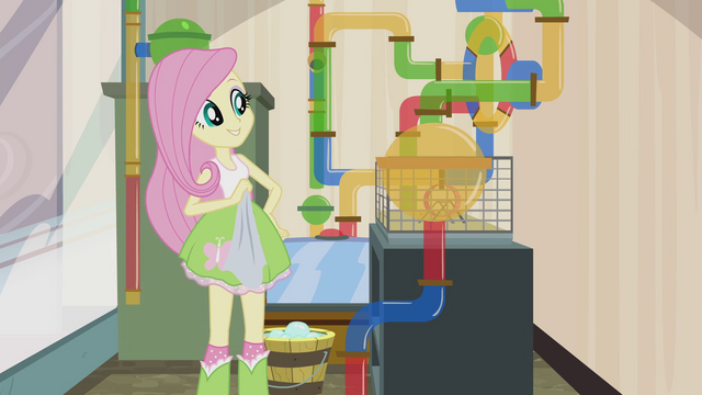 File:Fluttershy proud of her work EG2.png