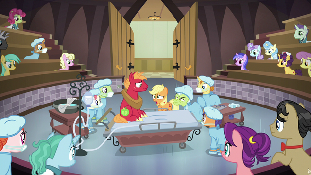File:Young Applejack confessing the truth S6E23.png