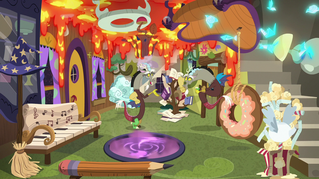 File:Discord and his duplicate surrounded by chaos S7E12.png