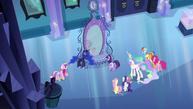 Ponies shocked by Luna's explanation EG.png