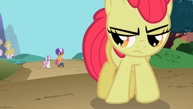 File:Sweetie Belle and Scootaloo talk to Apple Bloom S2E06.png