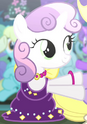 Sweetie Belle dream dress ID S4E19