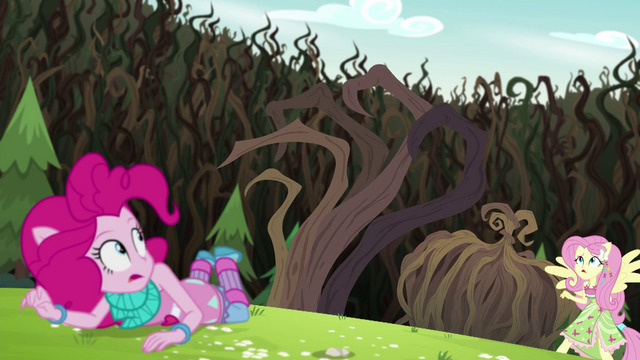 File:Claw-like vines looming over Pinkie Pie EG4.png