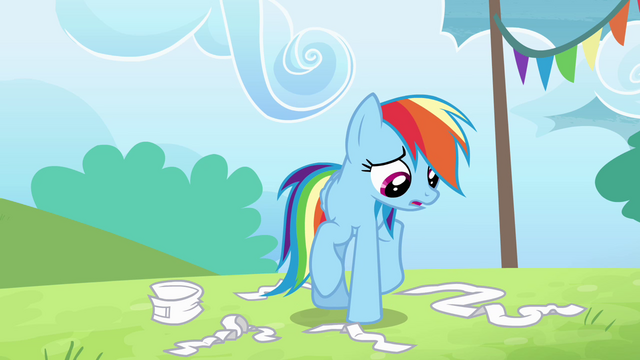 "File:Rainbow Dash ""I faked my injury"" S4E10.png"