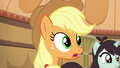 "Applejack ""seemed to be good for Gladmane"" S6E20.png"