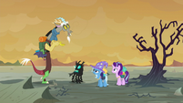 "Discord ""like a secret code!"" S6E25"