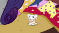 Little mouse wearing a sewn dress S6E21.png