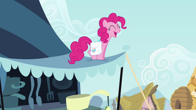 File:Pinkie Pie singing on top of awning S4E12.png
