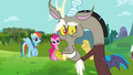 """Discord leans on the fourth wall """"oopsy"""" S03E10.png"""