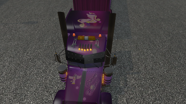 File:FANMADE ETS2 Pete 389 Custom - Princess Cadance Skin 6.png