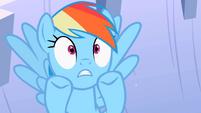 Rainbow Dash get flooded S2E8