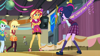 Sunset Shimmer confronts Twilight EG3