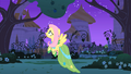 Fluttershy scares the critters away S01E26.png