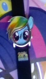 My Little Pony Rainbow Dash Analog Watch