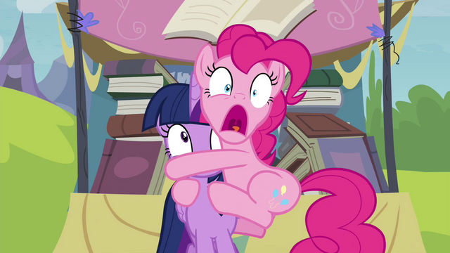 File:Pinkie Pie clinging to Twilight S4E22.png