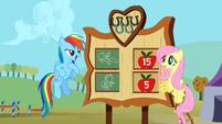 Rainbow Dash wins the Iron Pony competition S01E13