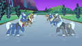 Rows of unicorn stallions S1E26.png