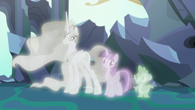 """File:Spike """"something Starlight and Thorax would do"""" S7E1.png"""