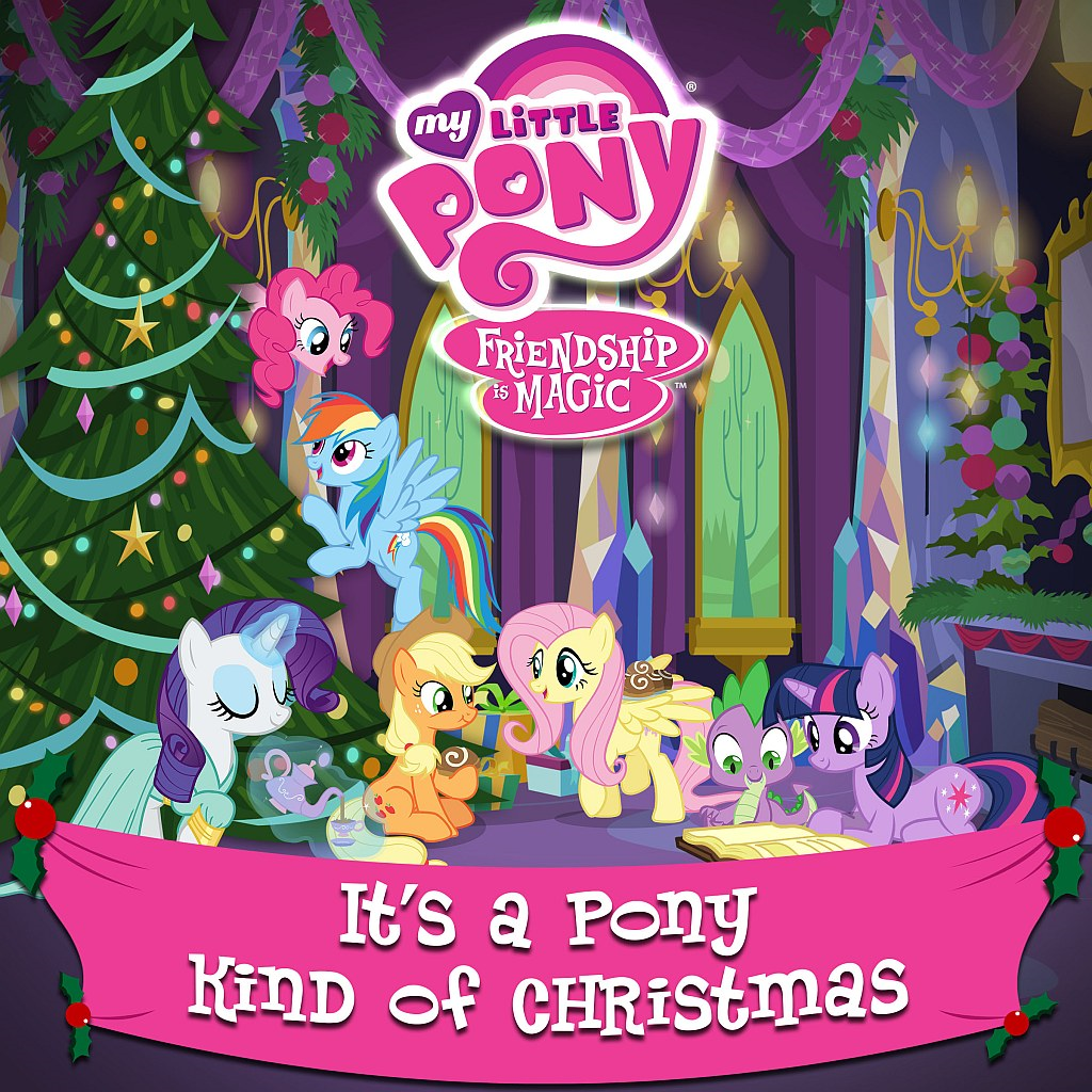 File:It's a Pony Kind of Christmas alternate cover.png