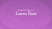 Lauren Faust title sequence opening credits