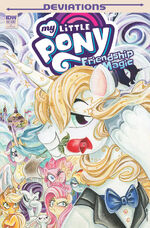 My Little Pony Deviations cover RI