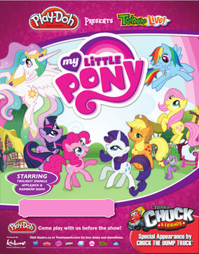 Treehouse Live! My Little Pony poster