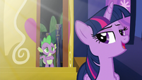 "Twilight ""so it's been a little while since we've seen the sun"" S5E22"