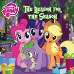 MLP The Reason for the Season storybook cover