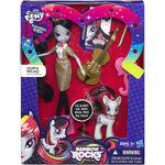 Octavia Melody Equestria Girls Rainbow Rocks doll and pony set packaging