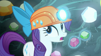 "Rarity ""for once I wish unicorn magic"" S6E5"