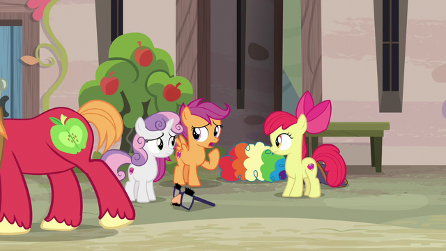 "File:Scootaloo ""possible to have two crushes at once"" S7E8.png"