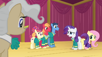 The Ponytones agreeing S4E14