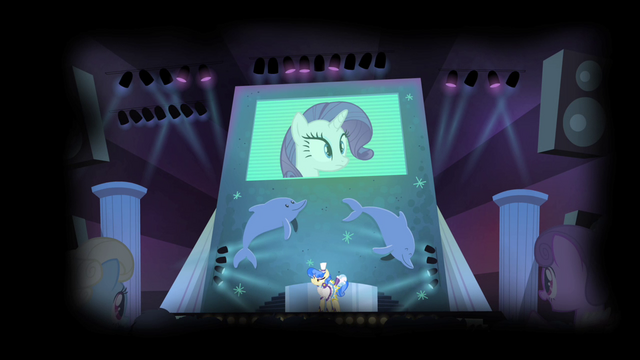 File:Sapphire and ponies ridiculing Rarity S4E19.png