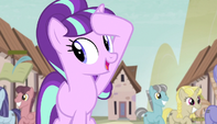 """Starlight singing """"we never have to look around"""" S5E1"""