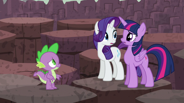 File:Twilight and Rarity look at each other S6E5.png