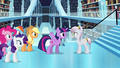 Twilight talking to the librarian S3E01.png