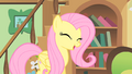 Fluttershy in her cottage S1E22.png