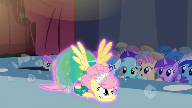File:Fluttershy skidding across the floor S1E20.png