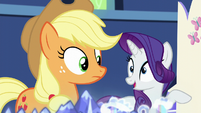 "Rarity ""not only home to the Haypacking District"" S5E16"