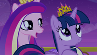 "Cadance singing ""that crown is upon your head"" S4E25"