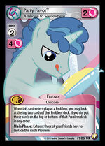 Party Favor, A Bridge to Somewhere card MLP CCG