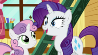 "Rarity ""I'm so excited"" S7E6"