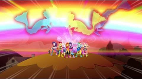 Swedish Equestria Girls Rainbow Rocks Welcome To The Show HD