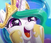 FANMADE Princess Celestia surprised